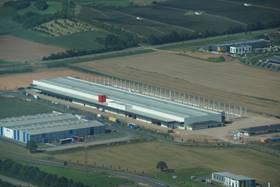 Fabriekshal Italpanelli, Ancarano (Italië)