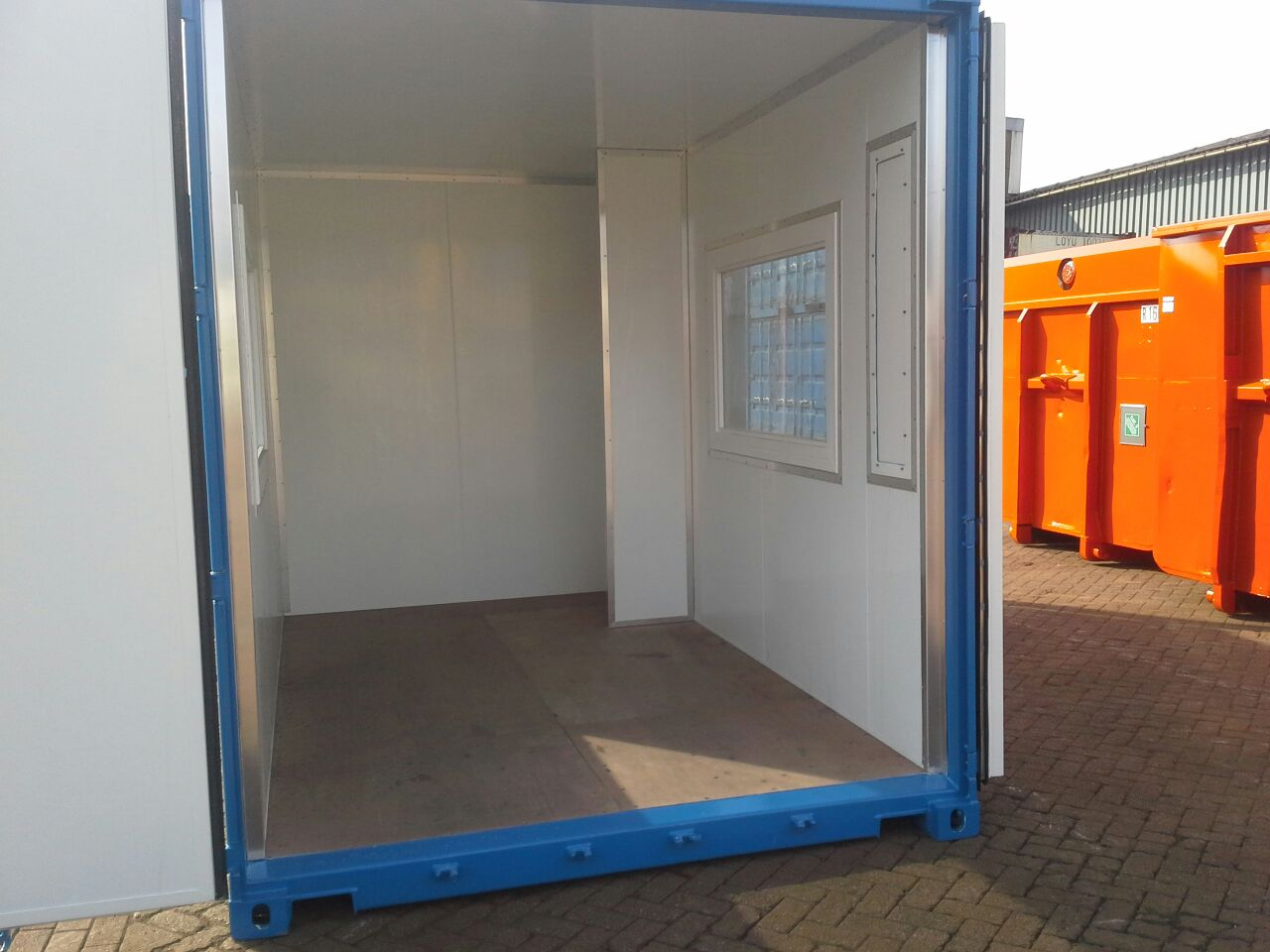 Containerbouw Oosterhout